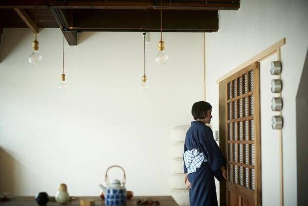 【あの人の部屋 #7】もとは魚屋さんの古民家。奥様の着物がよく映える
