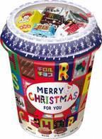 【限定】〔チロルチョコ〕から《クリスマスカップ》が登場!みんなでシェアして食べたい♡