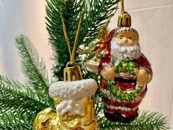 どこに飾る?〔ダイソー〕のクリスマスオーナメントを散りばめよう♡