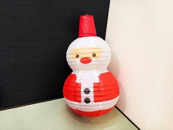 和室にもぴったり♪〔ダイソー〕で手に入るクリスマスの提灯飾りがゆるかわで癒やされる♡