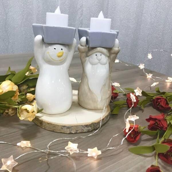 〔ナチュラルキッチン アンド〕のキャンドルカップでクリスマスに幻想的な明かりを灯そう♡