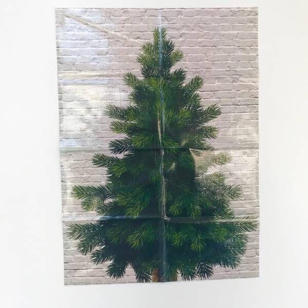 【セリア】スペースがなくても十分楽しめる!壁を使ったクリスマスインテリア♡