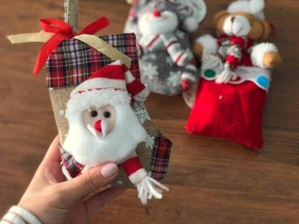〔KALDI〕でクリスマスのオーナメントが買える?お菓子入りのぬいぐるみオーナメントが愛くるしい♡