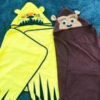 お子さんの冷え対策に◎〔イケア〕のフード付きバスタオルであの動物にかわいく変身⁉