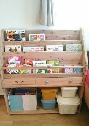 【DIY】自分で作れる本棚で、空間をおしゃれに最大利用!