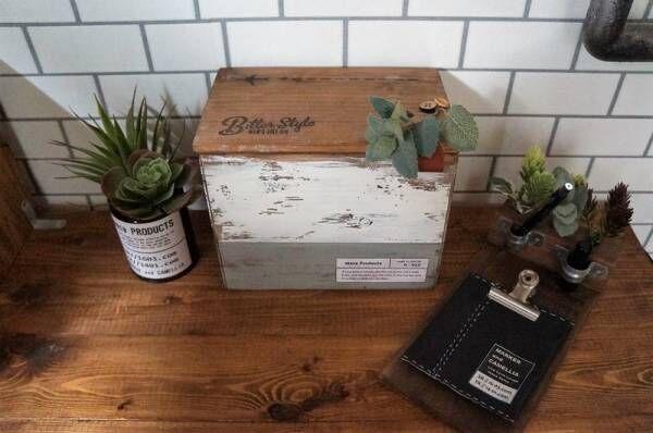 【DIY】木箱ってこんなに使えるの!?おしゃれで便利なアイデアまとめ♪