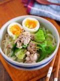 【今日のごはん】簡単5分!疲れた胃腸にうれしい♪鶏肉とキャベツのうま塩うどん(2019/01/08)