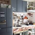 【DIY】冷蔵庫をリメイクして生活感のないオシャレなキッチンに♪ 簡単おすすめアイデアをご紹介