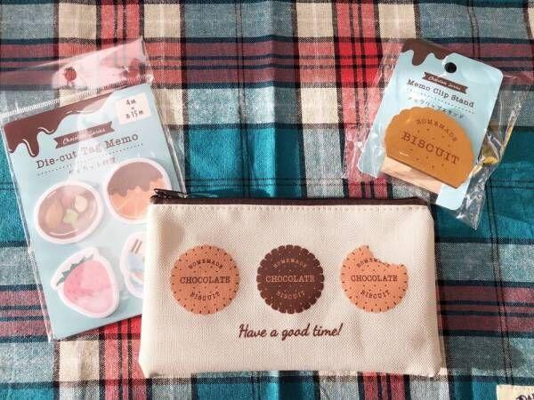 【Can★Do】気分があがる!かわいいお菓子柄の文房具3選♡