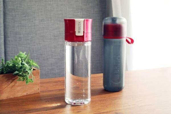 外出先でもおいしく水を飲みたい!浄水フィルター付きボトル《fill&go》で常温水だって簡単に補給♪