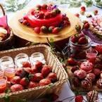 【関西編】いちご好き集まれ~♡リッチ気分を楽しむ人気のイチゴビュッフェレストラン5選