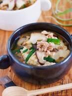 【今日のごはん】3分煮るだけとっても簡単!豆腐とひき肉のおかずスープ(2019/02/08)