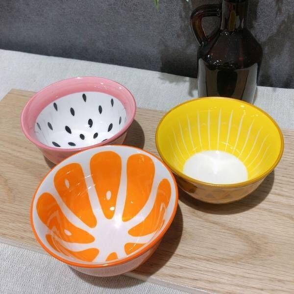 【セリア】まとめ買いしたくなる!かわいいフルーツ小鉢3点