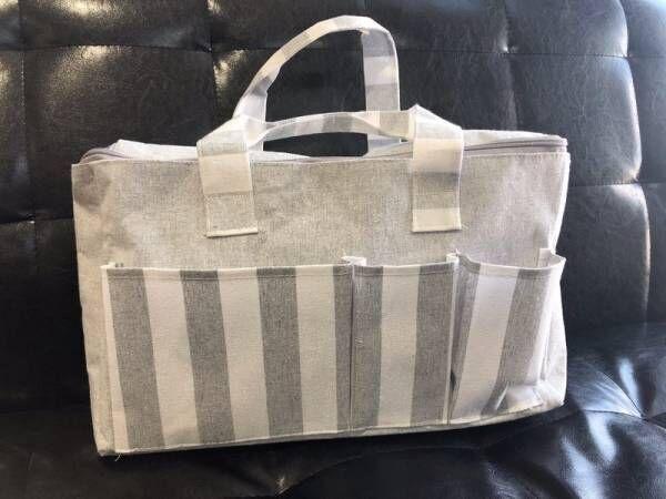〔ダイソー〕の《ピクニックバッグ》が大容量!ママの強い味方になること間違いなし♪