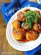 【今日のごはん】お弁当にもぴったり!はんぺんと鶏ひき肉のヘルシー肉団子♡(2019/03/26)