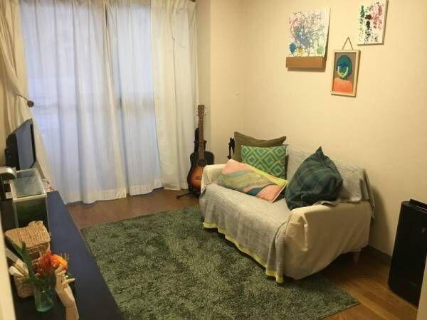 賃貸でも大丈夫♪配置を変えるだけで3人暮らしの狭い部屋が大変身!