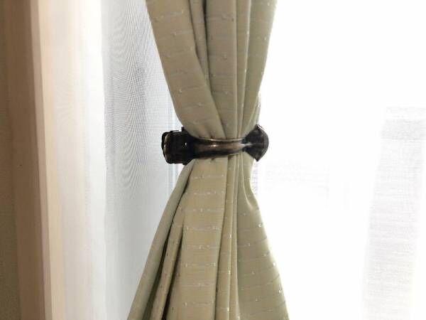 【キャンドゥ】おしゃれアイテムでカーテンをすっきりまとめよう♡