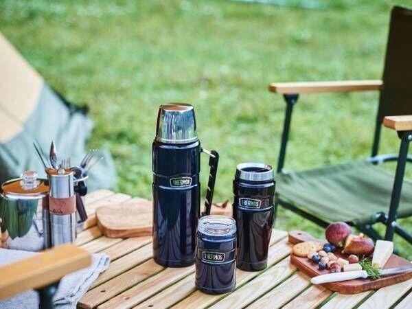 キャンプにBBQに大活躍!《サーモス アウトドアシリーズ》のステンレスボトルやソフトクーラーで快適なアウトドアライフを♪