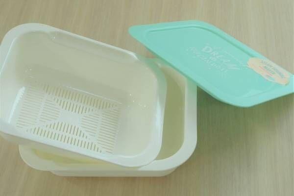 【3COINS】利便性重視のキッチンに♡おすすめパステルカラーのフードコンテナ&スチーマー