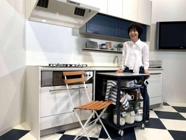 自由に動くキッチン!?栗原はるみさんプロデュースの《harumi's kitchen》でワクワクが止まらない!