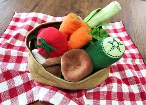 【イケア】今日は何を作る?新鮮野菜とカラフルカップで楽しくおままごと!