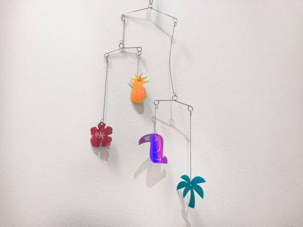 【セリア】飾るだけでおしゃれになる♪夏のウォールアイテム3選!