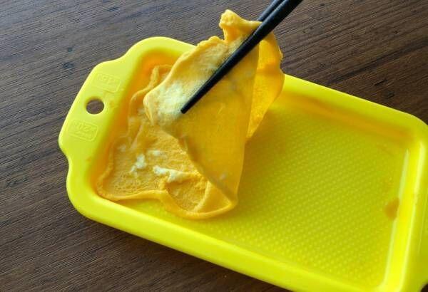 【ダイソー】レンチンだけで薄焼き卵が簡単にできちゃう!コツいらずの便利調理グッズ♪