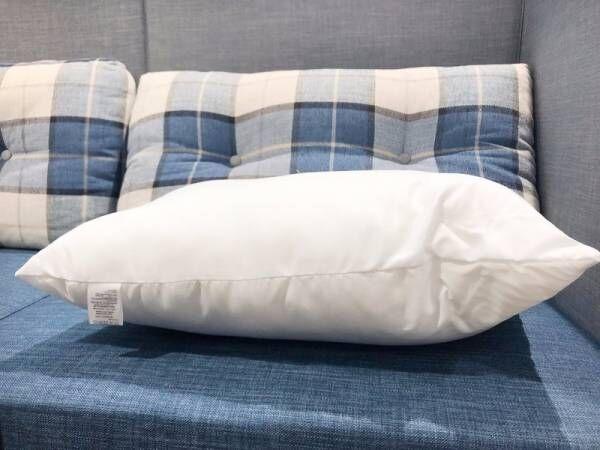 【ダイソー】約600円で枕と枕カバーが手に入る!?コスパの良すぎる枕に感動♪