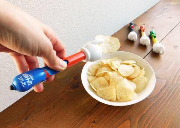 ジャンク好きさんに朗報!スマホしながらポテトチップスを食べられるタッチペンが登場しました