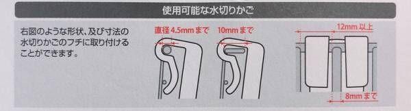 【キャンドゥ】水切りかごに掛けるだけ!ボトルの水切り場所不足を解決!