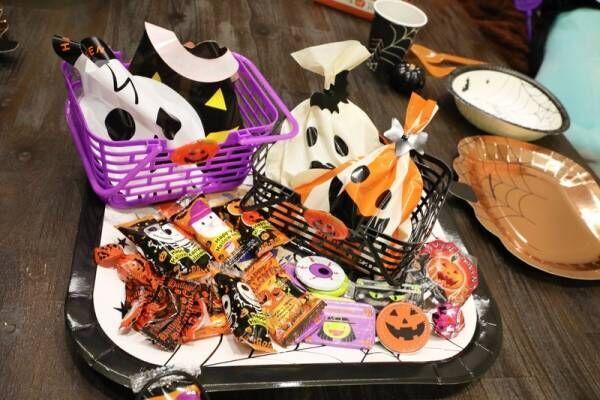 【セリア】手軽にハロウィンを楽しめる!お菓子をサーブするのにオススメなバスケットをご紹介