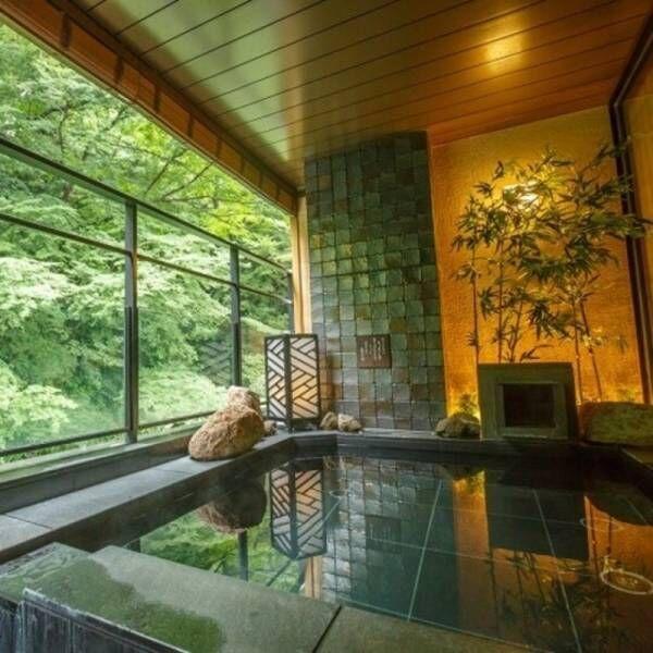 【箱根】心も体も「ほっと」リフレッシュ!自然豊かな景色に囲まれた温泉宿で、日々のストレスを洗い流そう♪