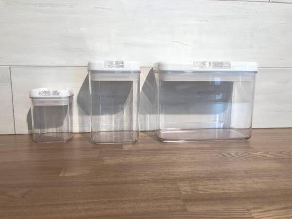 【カインズ】本当に片手でできるの?《片手で開け閉めができる保存容器》をご紹介!