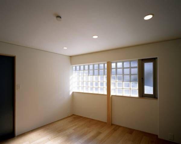 【菱形の家】  菱形平面が生み出す広がりある空間