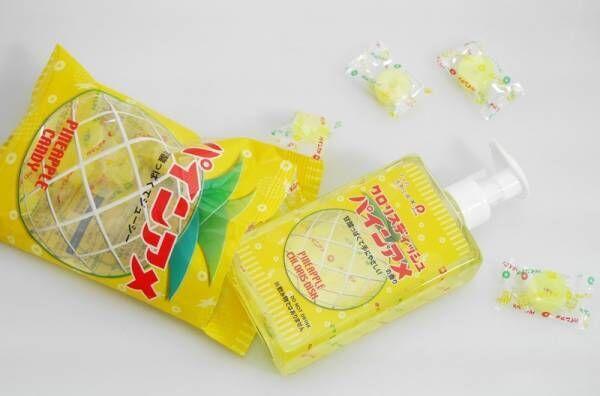 あの《パインアメ》が食器用洗剤に大変身!香りやデザインに食器洗い中も癒される♡