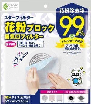 【花粉対策】部屋の中の〇〇に貼るだけ!花粉を99%ブロックできるアイテムでもう悩まない♪