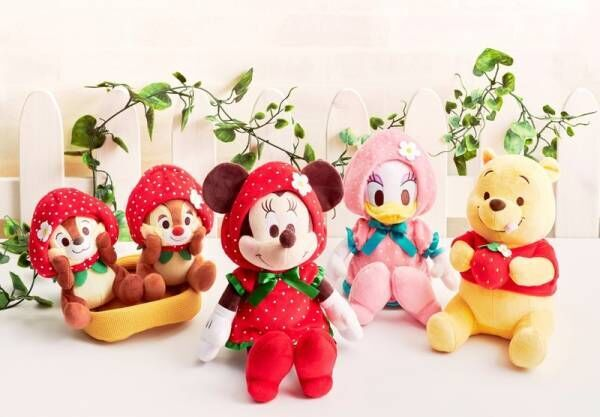 春を感じるいちごモチーフのアイテムの数々がディズニーストアから2020年1月3日(金)より順次発売