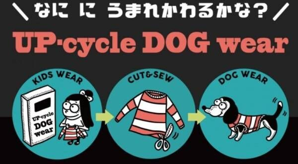 犬と子どもがつながる日「アップサイクル ドッグウェア プロジェクト」始動!
