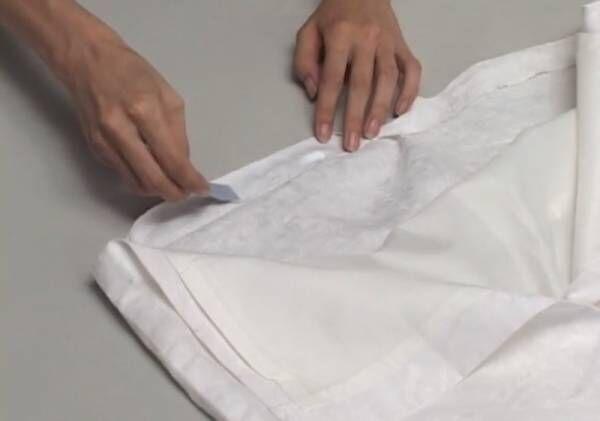 ミシンが苦手な方必見♡裾直しやタグの貼り付けは〇〇で簡単に!