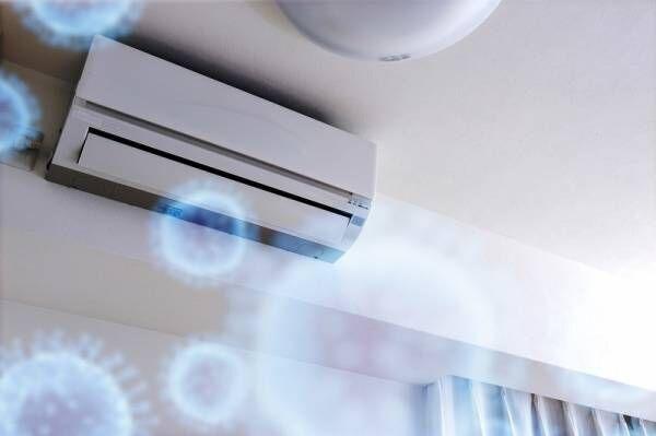 エアコンが空気清浄機に!?〇〇を貼るだけでウイルスもカビもバイバイ♪