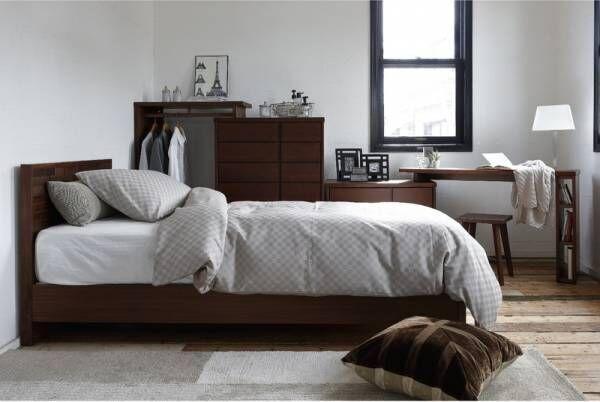 乱れがちな寝室を美しく見せる解決策