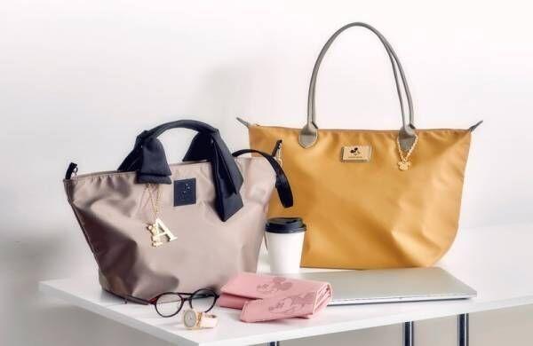 新しいバッグで心機一転!オフィスシーンでも使えるバッグやファッション雑貨がディズニーストアから2月18日(火)より発売