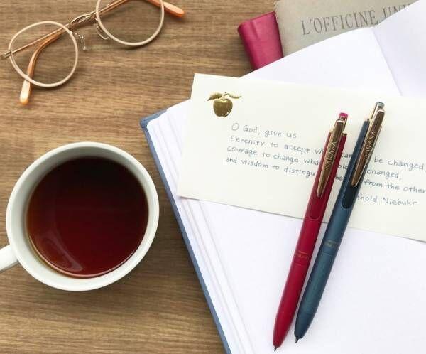 ビンテージカラーのインクで上質な筆記時間をすごせる 大人気のサラサクリップのプレミアムライン「サラサグランド」登場