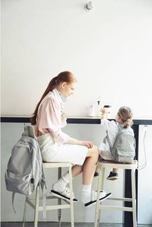 【マザーズバッグ】ママとおそろいのペア―ルックはこんなにかわいい!
