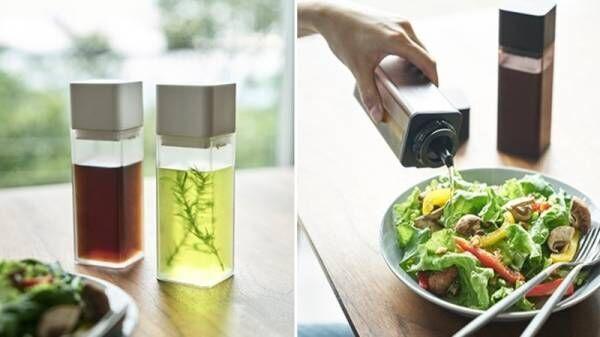 バルブで密閉できるランチボックスやバターケース、シンプルデザインの調味料ボトルなど、新商品発売しました