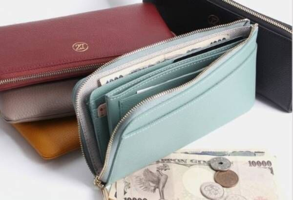『今変えると縁起がいい✨』実は薄型が旬!?使うほどに味の出る長財布