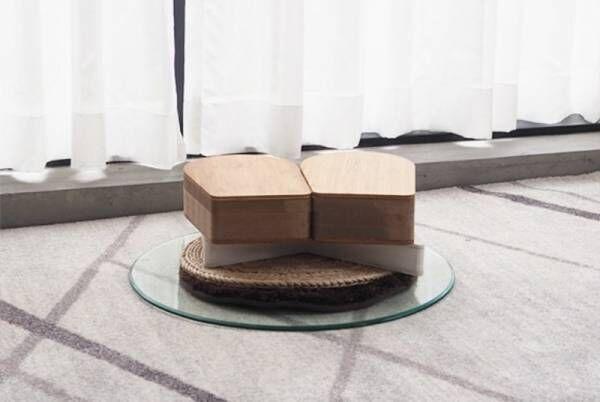 紙に座る!?耐荷重300kgを実現した、おしゃれなペーパースツール&カフェテーブル「十八紙(とわがみ)」