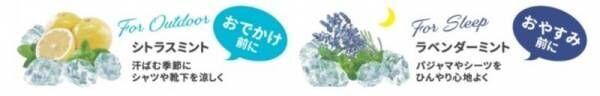 夏のひんやりシリーズ第2弾 生活を心地よくする「Beauwell」より< 冷感ファブリックミスト>新発売!