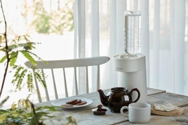 調理家電ブランド「récolte(レコルト)」お白湯習慣も続けやすい!2秒でお湯が出る!ホットウォーターサーバー新発売!