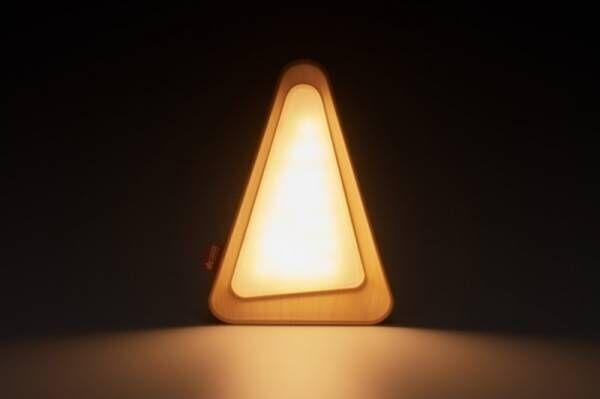 ライトを伏せると自動で消灯、倒して調光!簡単操作のLEDランタン「アクションスイッチ・テトライト」新発売!